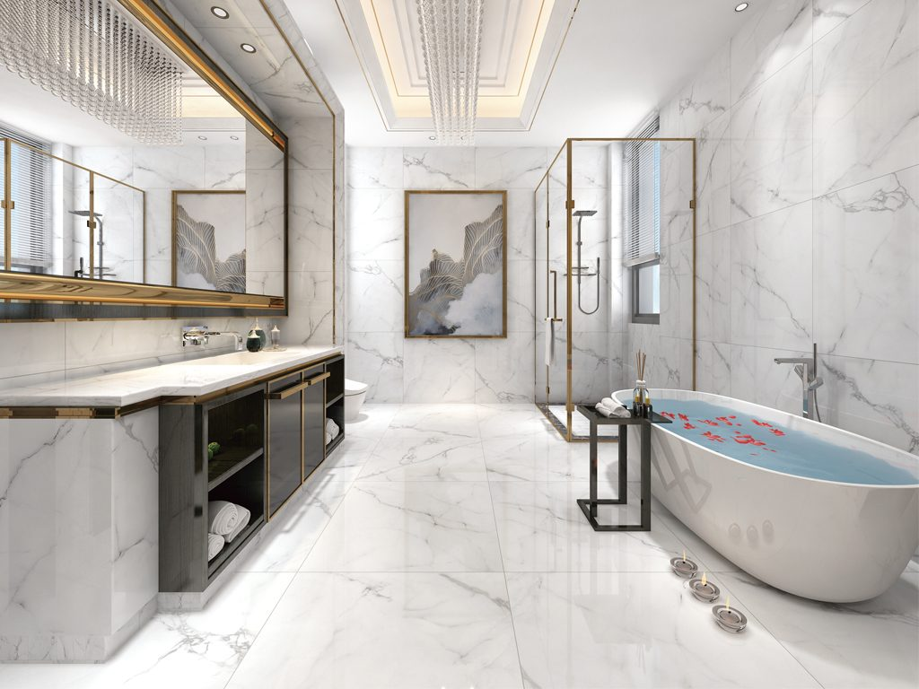 Porcelain for Bathrooms and Laundry