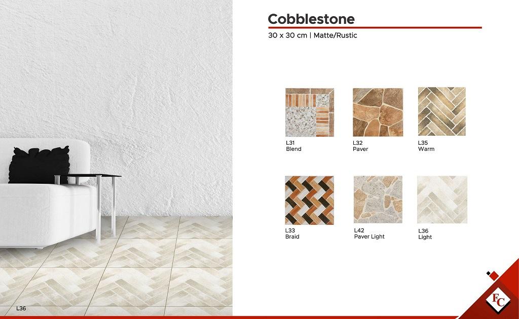 30x30 Cobblestone