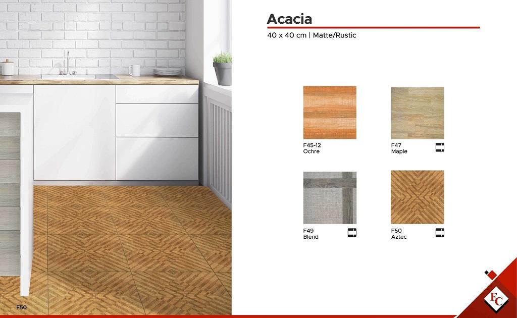 40x40 Acacia