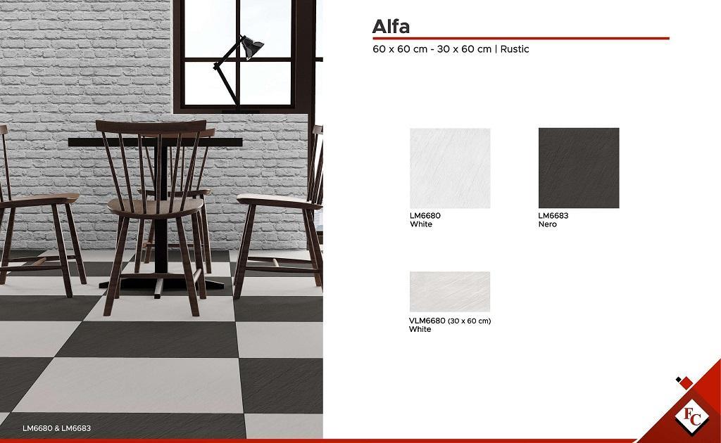 Kitchen: 60 x 60 - 30 x 60 Alfa