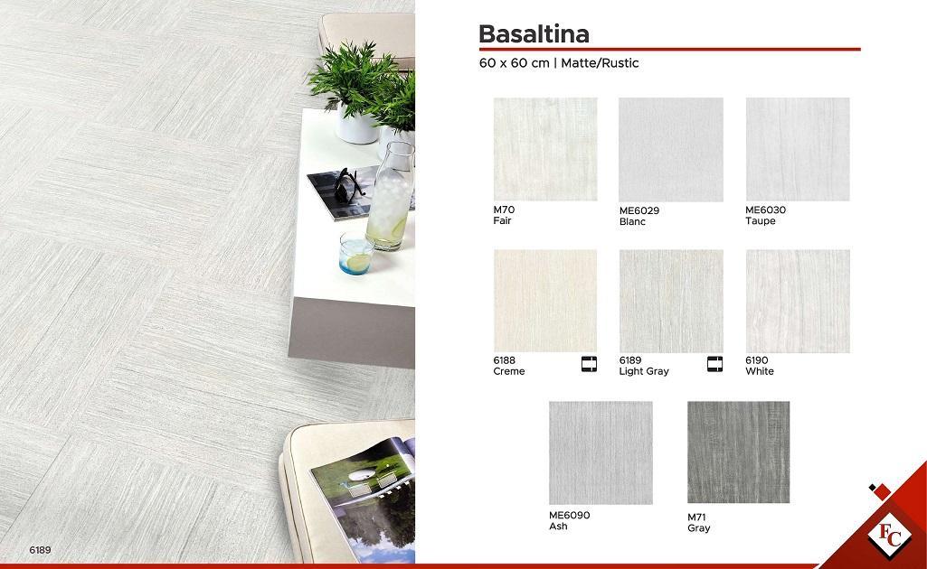 Foyer: 60 x 60 Basaltina