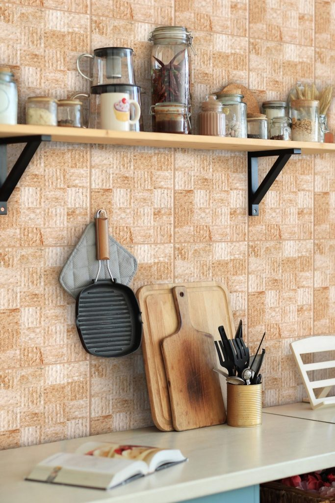 Add Custom Kitchen Shelves