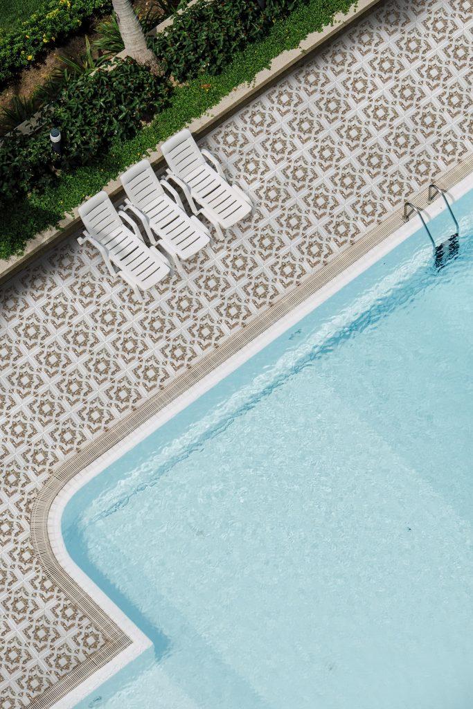 swimming pool top view