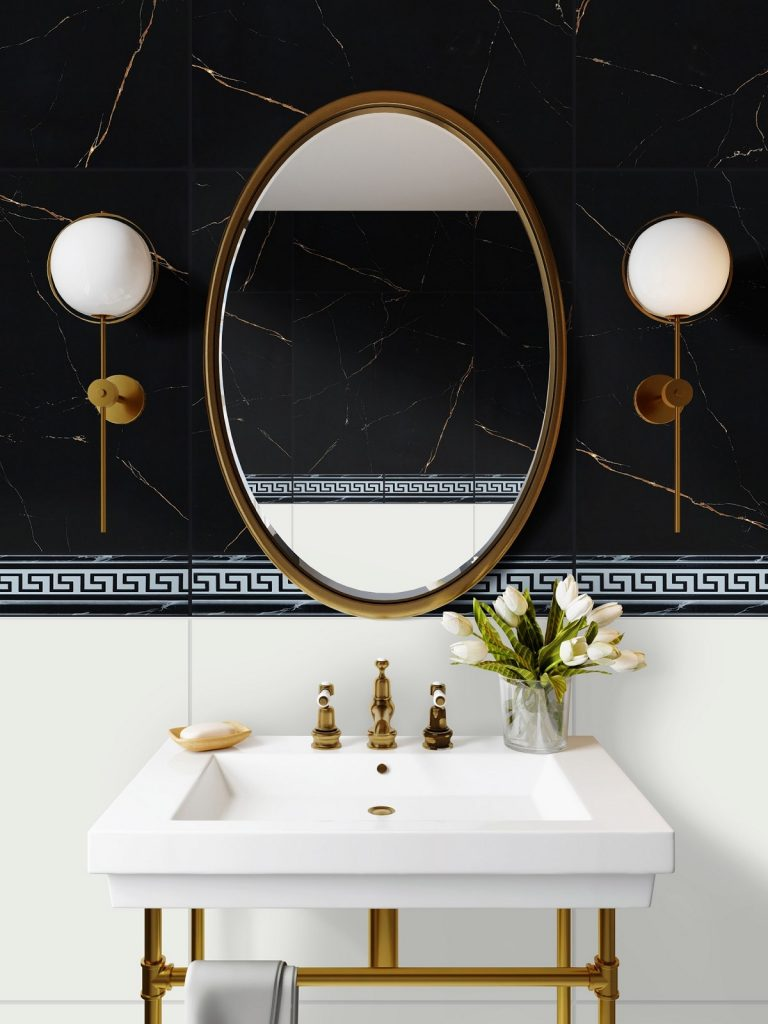 Luxurious Black Marble