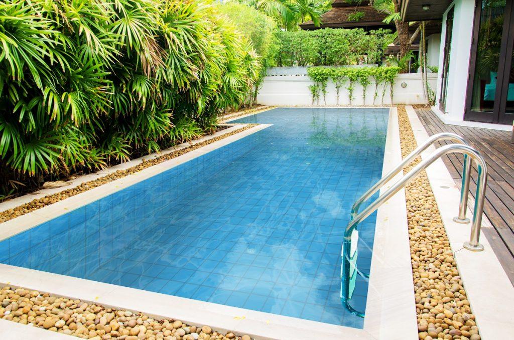 Beautiful luxury swimming pool